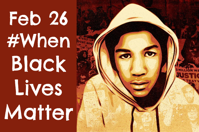 Whenblacklivesmatter on trayvon martin