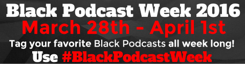 BlackPodcastWeek Logo